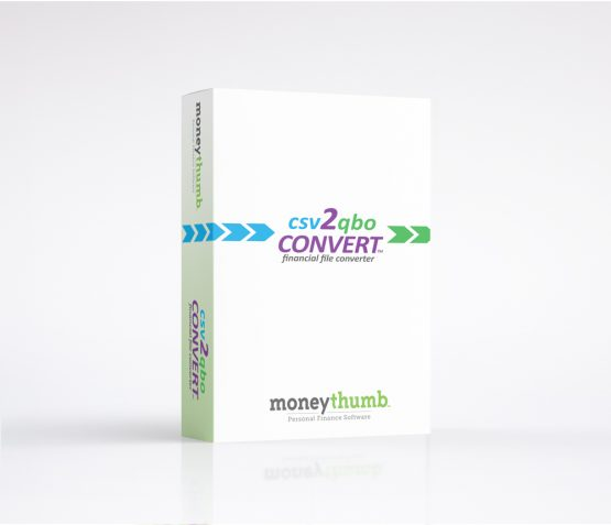 csv2qbo Convert Software Box
